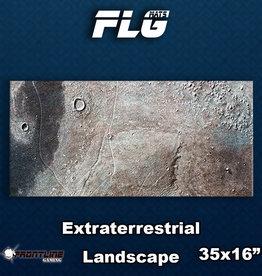 Frontline-Gaming FLG Mats: Extraterrestrial Landscape Desk Mat