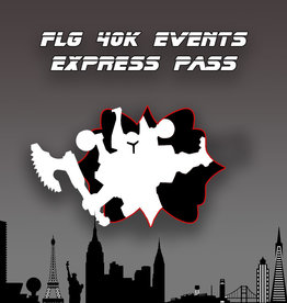 Frontline-Gaming FLG 40k Events 2021 Express Pass