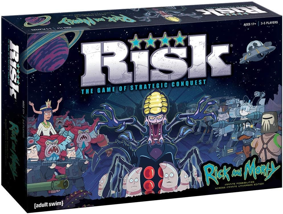 USAOPOLY Risk Rick and Morty