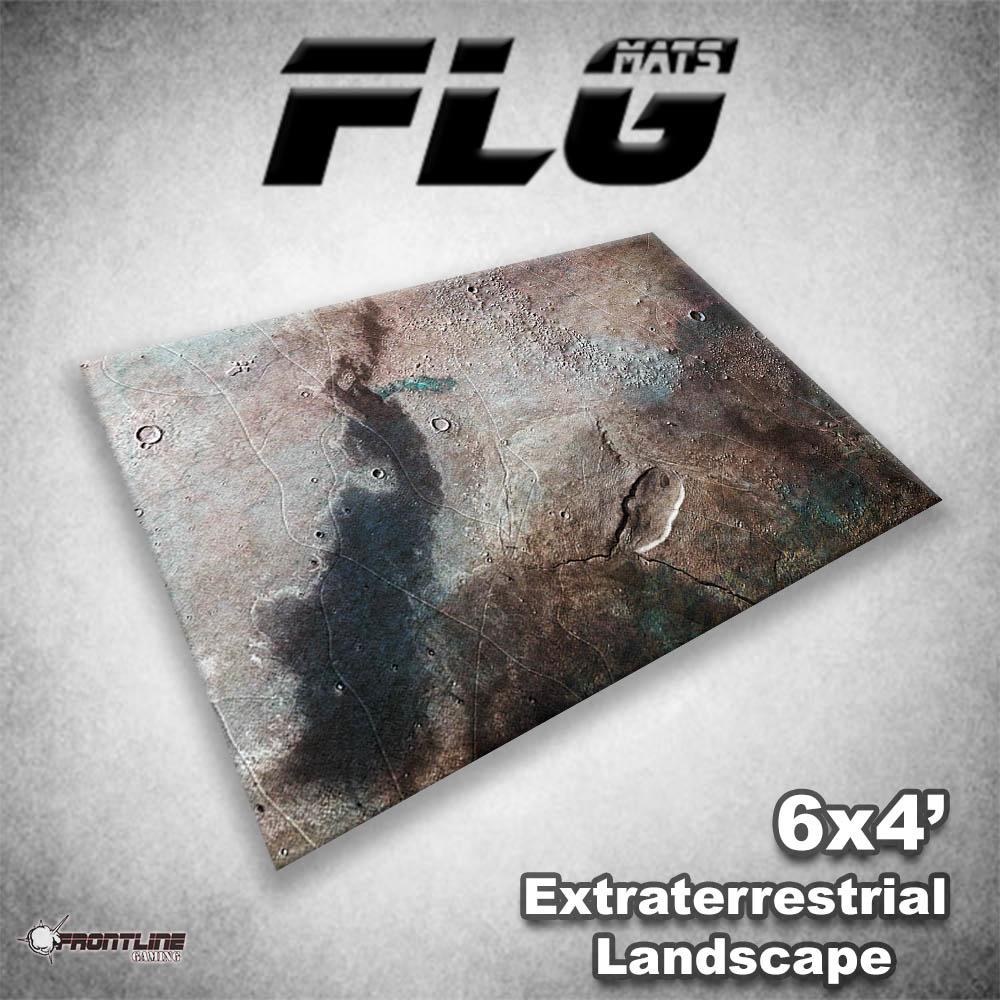 Frontline-Gaming FLG Mats: Extraterrestrial Landscape 6x4'