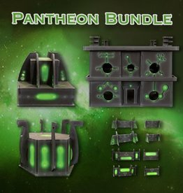 Frontline Gaming ITC Terrain Series: Robot City Pantheon Bundle