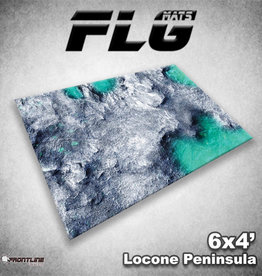 Frontline-Gaming FLG Mats: Locone Peninsula 6x4'