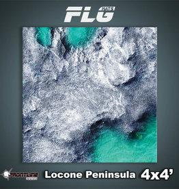 Frontline-Gaming FLG Mats: Locone Peninsula 4x4'