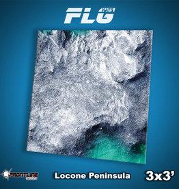Frontline-Gaming FLG Mats: Locone Peninsula 3x3'
