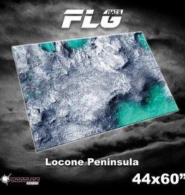 "Frontline-Gaming FLG Mats: Locone Peninsula 44"" x 60"""