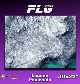 "Frontline-Gaming FLG Mats: Locone Peninsula 30"" x  22"""