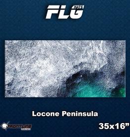 Frontline-Gaming FLG Mats: Locone Peninsula Desk Mat