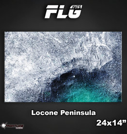 "Frontline-Gaming FLG Mats: Locone Peninsula 24"" x 14"""