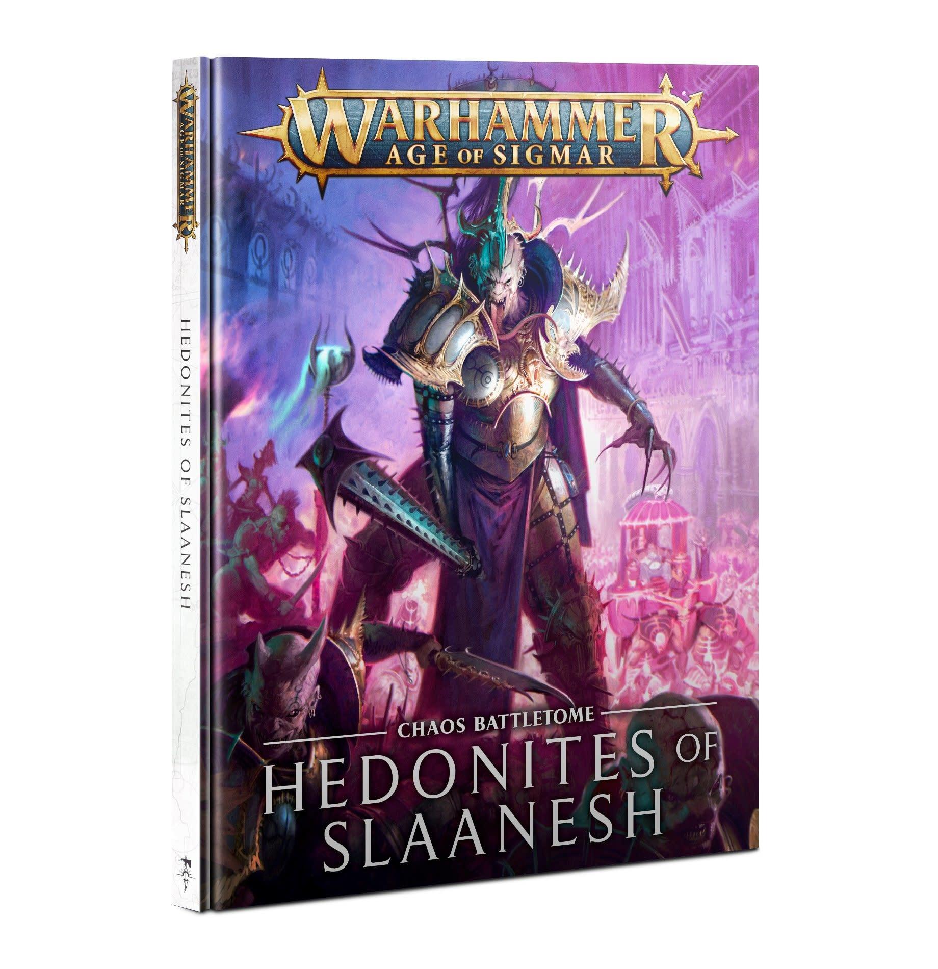 Games-Workshop Battletome: Hedonites of Slaanesh