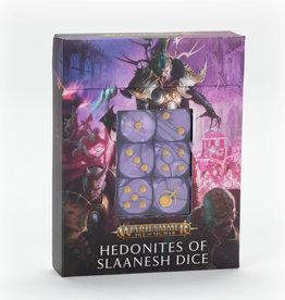 Games-Workshop Headonites of Slaanesh Dice Set
