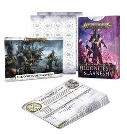 Games-Workshop Hedonites of Slaanesh Warscroll Cards