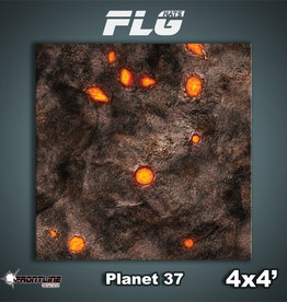 Frontline-Gaming FLG Mats: Planet 37 4x4'