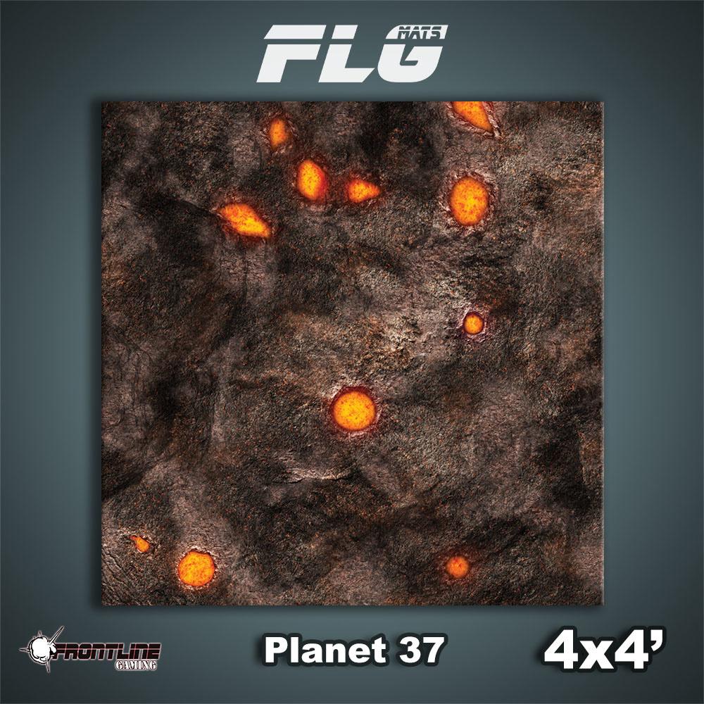 Frontline-Gaming FLG Mats: Planet 37 4x4'