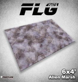 Frontline-Gaming FLG Mats: Alien Marsh 6x4'