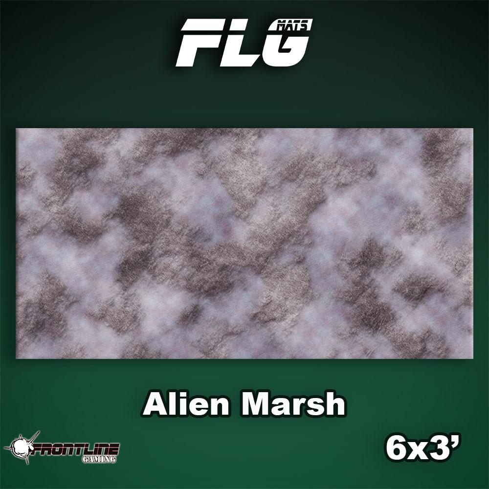 Frontline-Gaming FLG Mats: Alien Marsh 6x3'