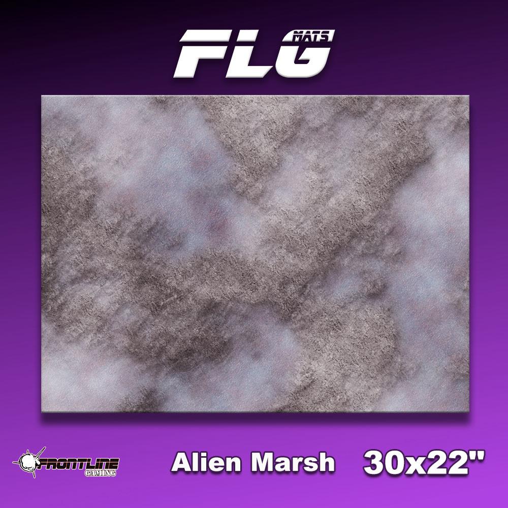 """Frontline-Gaming FLG Mats: Alien Marsh 30"""" x 22"""""""