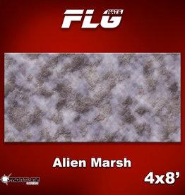 Frontline-Gaming FLG Mats: Alien Marsh 4x8'