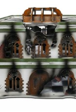 Frontline Gaming ITC Terrain Series: ITC Standard Damaged Urban Set With Mat