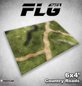 Frontline-Gaming FLG Mats: Country Roads 6x4'