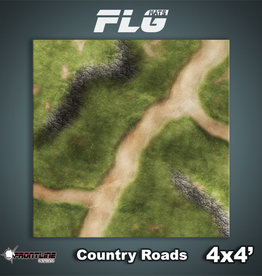 Frontline-Gaming FLG Mats: Country Roads 4x4'