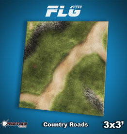 Frontline-Gaming FLG Mats: Country Roads 3x3'
