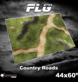 """Frontline-Gaming FLG Mats: Country Roads 44"""" x 60"""""""