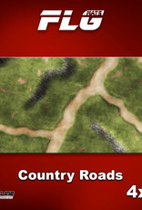 Frontline-Gaming FLG Mats: Country Roads 4x8'
