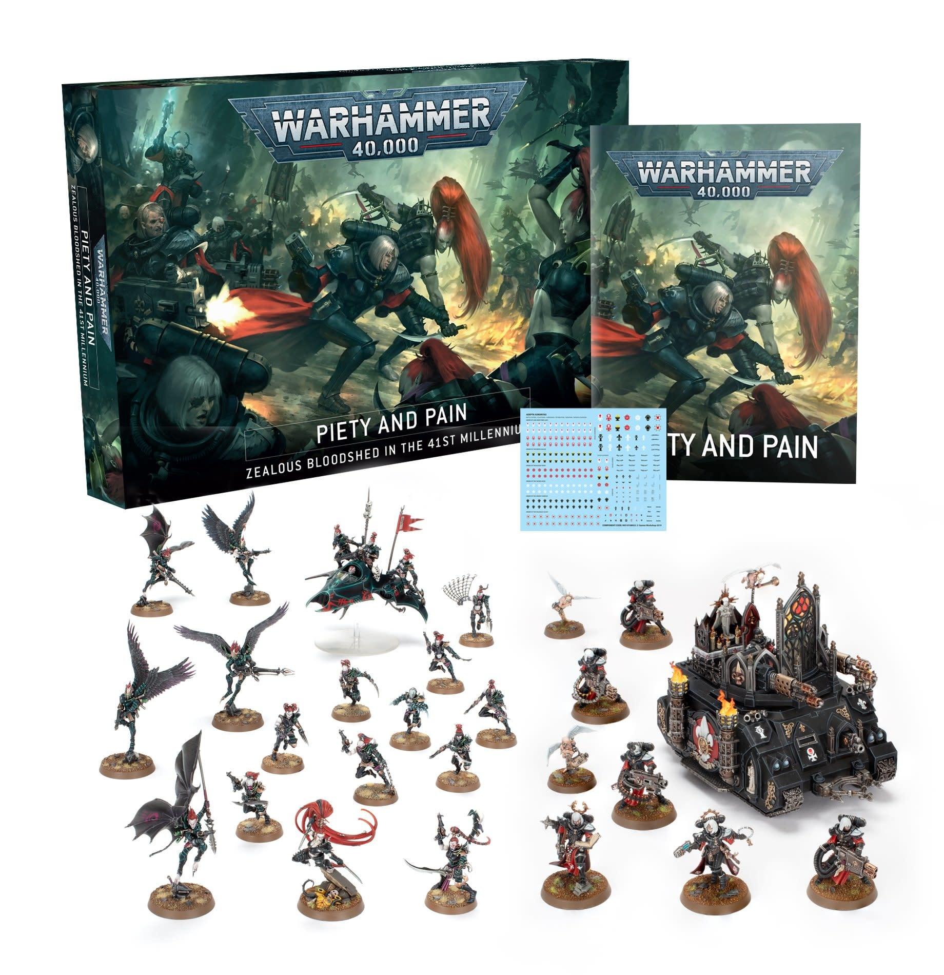 Games-Workshop Warhammer 40,000: Piety & Pain