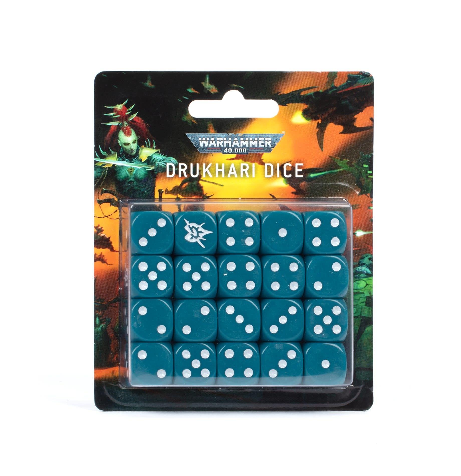Games-Workshop Drukhari Dice Set