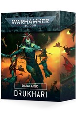 Games-Workshop Drukhari Datacards
