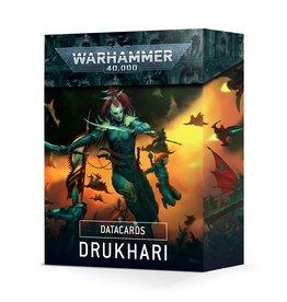 Games-Workshop Drukhari Datacards