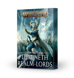 Games-Workshop Lumineth Realm-lords Warscroll Cards