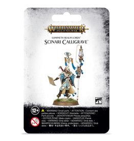 Games-Workshop Lumineth Realm-Lords Scinari Calligrave
