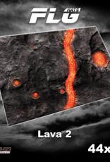 "Frontline-Gaming FLG Mats: Lava 2 44"" x 60"""