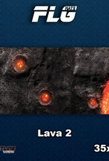 Frontline-Gaming FLG Mats: Lava 2 Desk Mat