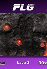 "Frontline-Gaming FLG Mats: Lava 2 30"" x 22"""