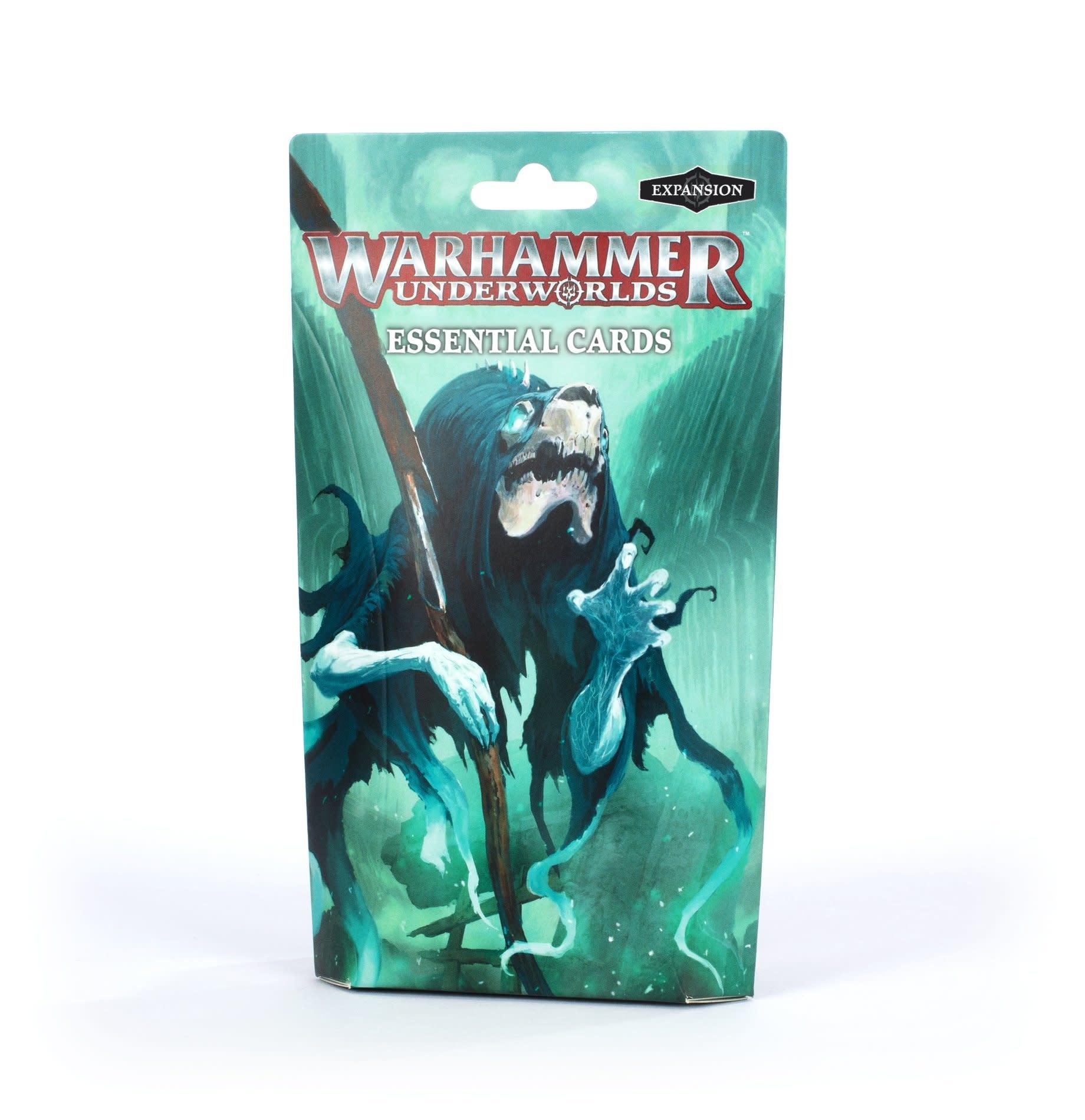 Games-Workshop Warhammer Underworlds: Essential Cards