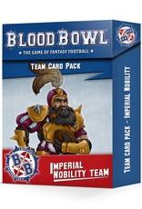 Games-Workshop Blood Bowl: Imperial Nobility Card Pack