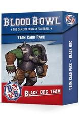 Games-Workshop Blood Bowl: Black Orc Team Card Pack