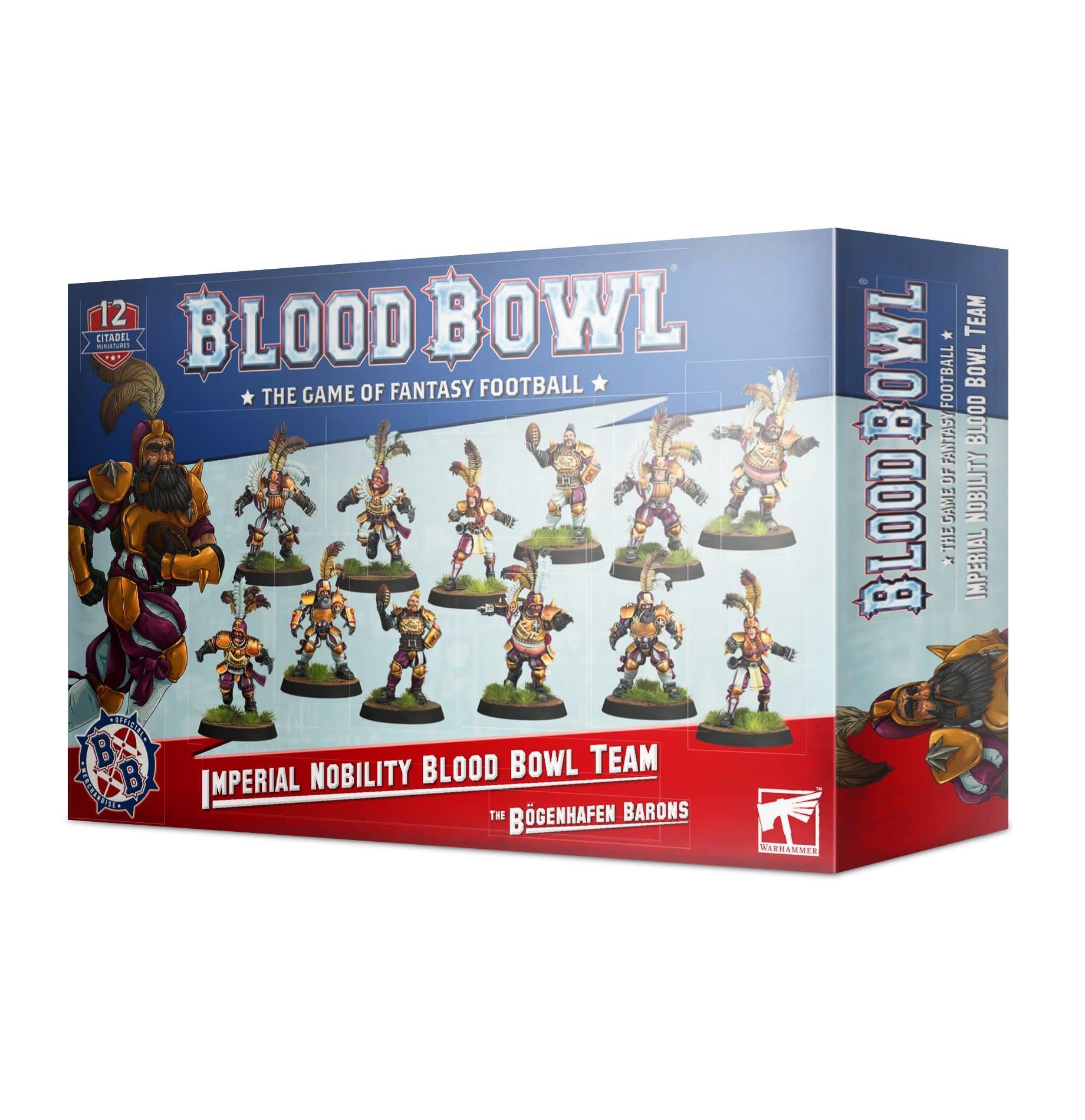 Games-Workshop Blood Bowl: Imperial Nobility Team