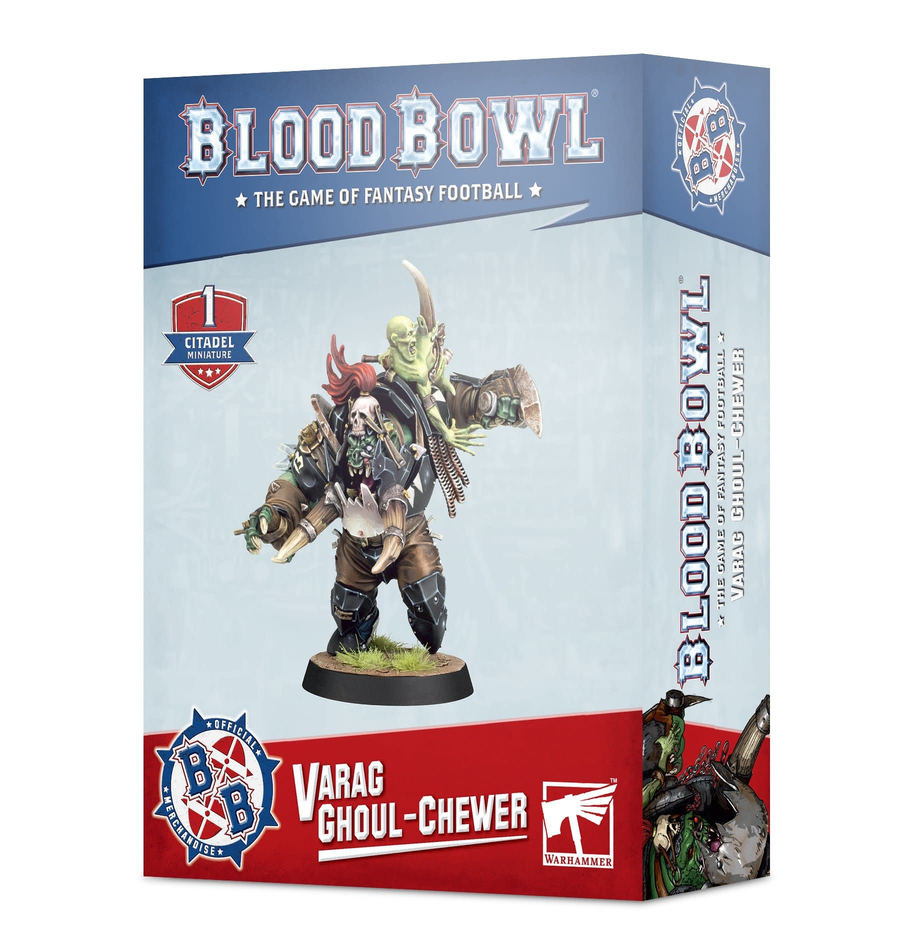 Games-Workshop Blood Bowl: Varag Ghoul-chewer