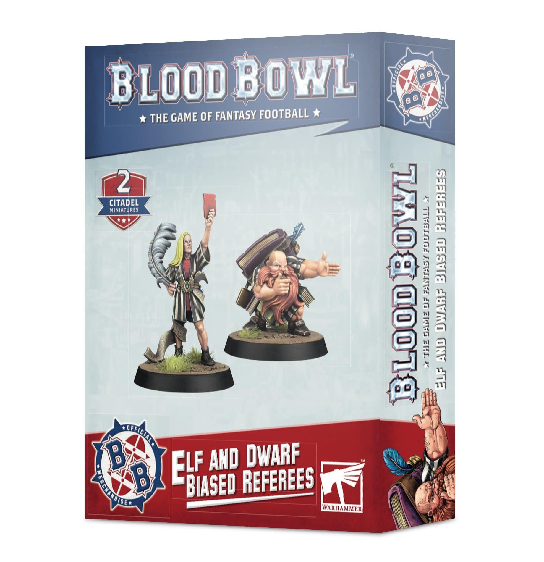Games-Workshop Blood Bowl: Elf & Dwarf Biased Referees