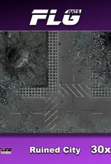 "Frontline-Gaming FLG Mats: Ruined City 30"" x 22"""