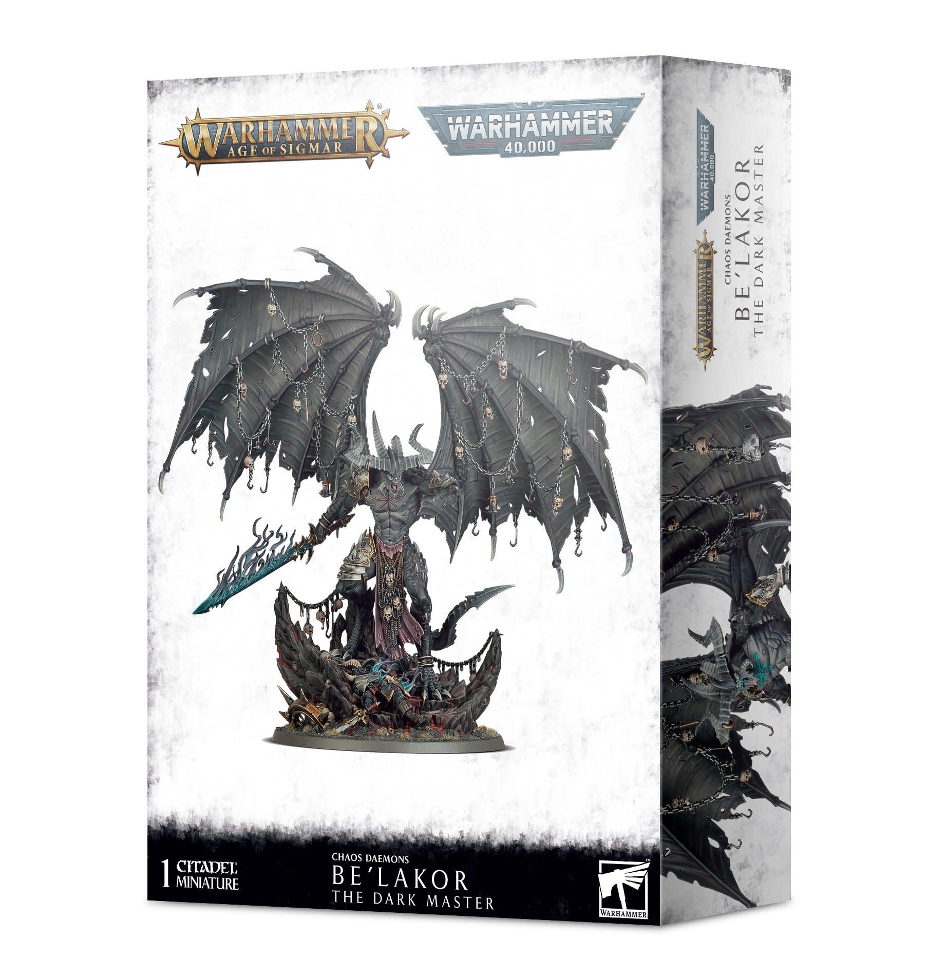 Games-Workshop Be'Lakor, The Dark Master