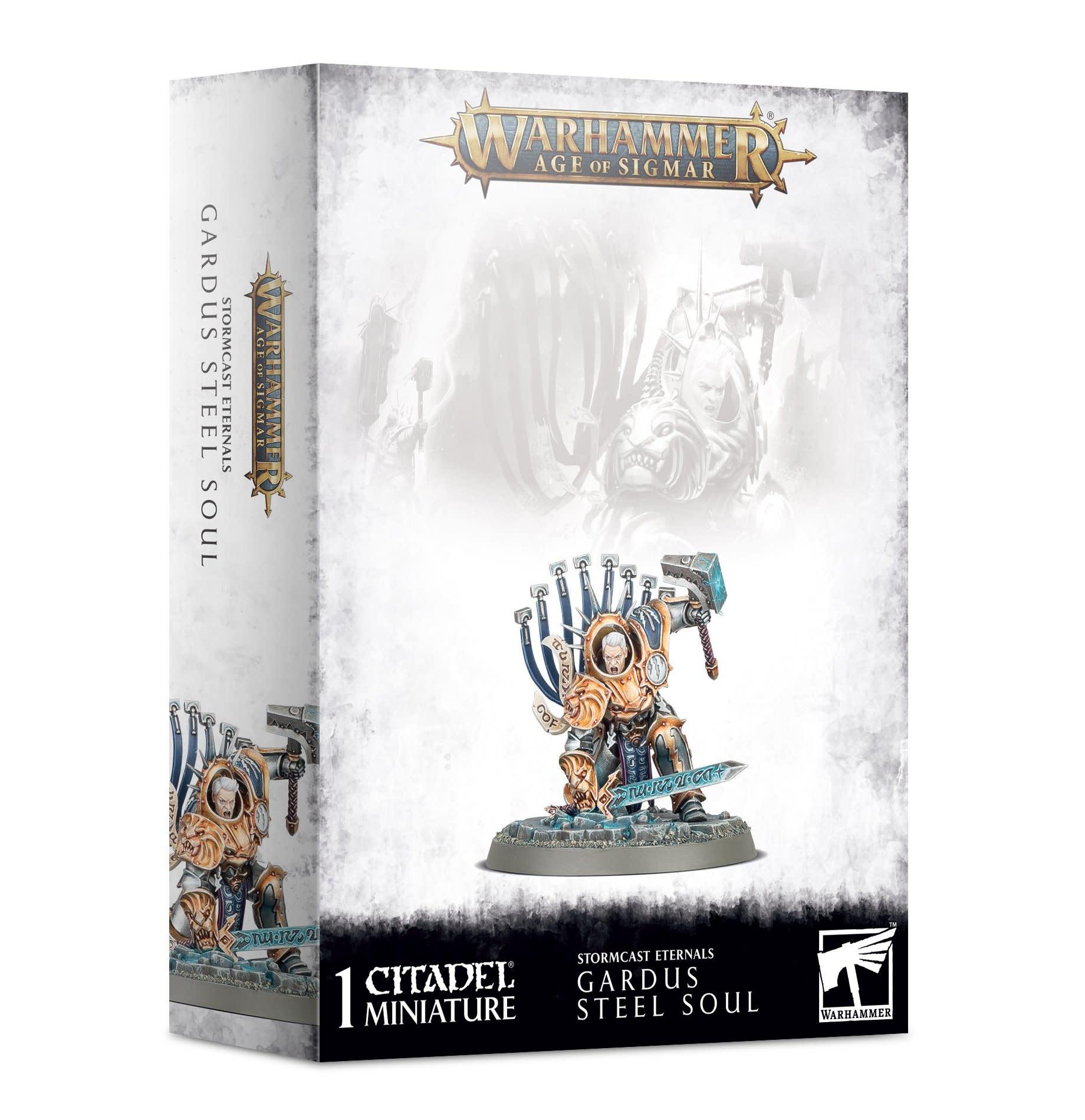 Games-Workshop Stormcast Eternals: Gardus Steel Soul