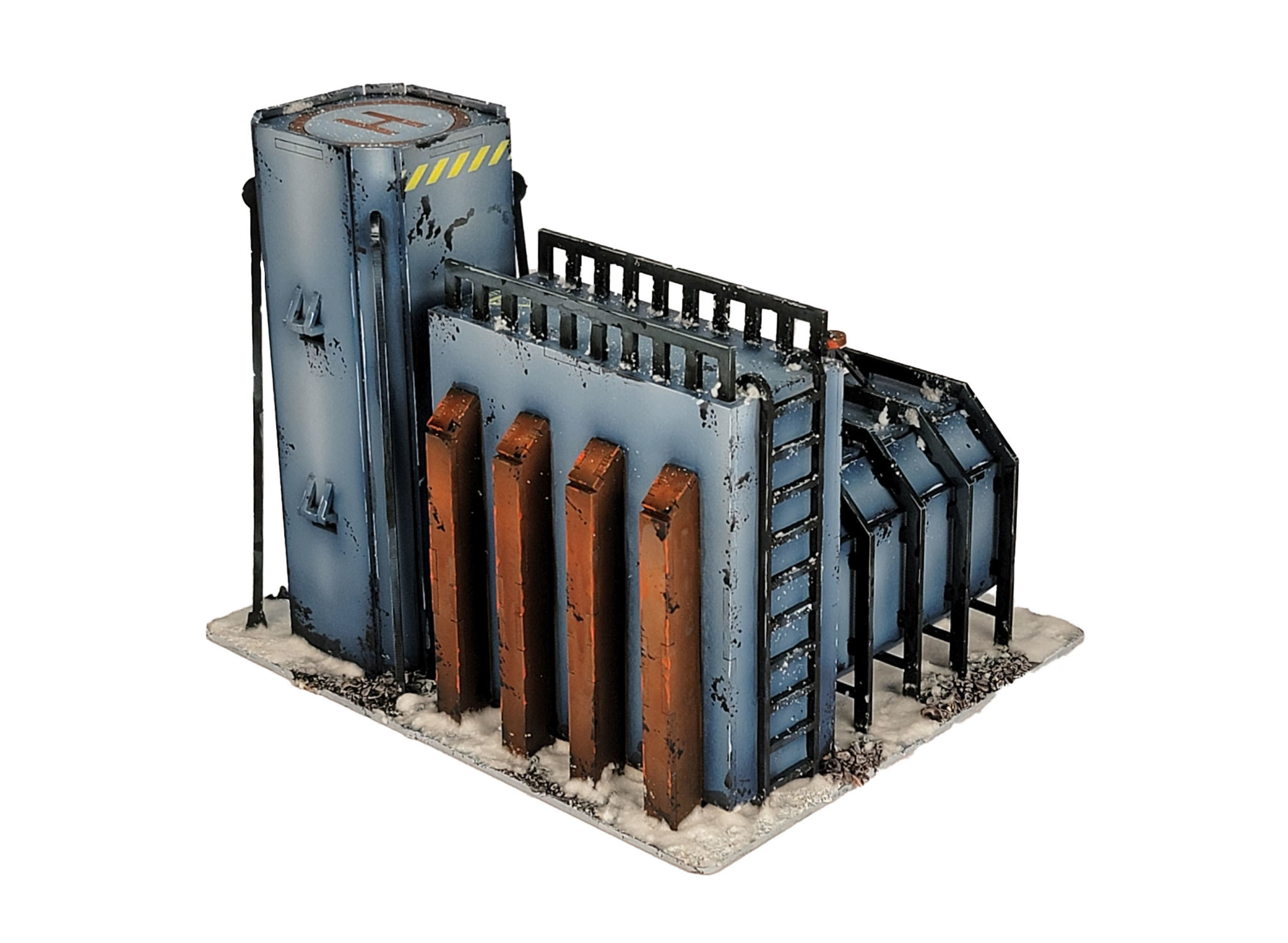 Frontline-Gaming ITC Terrain Series: Research Outpost Complete Set