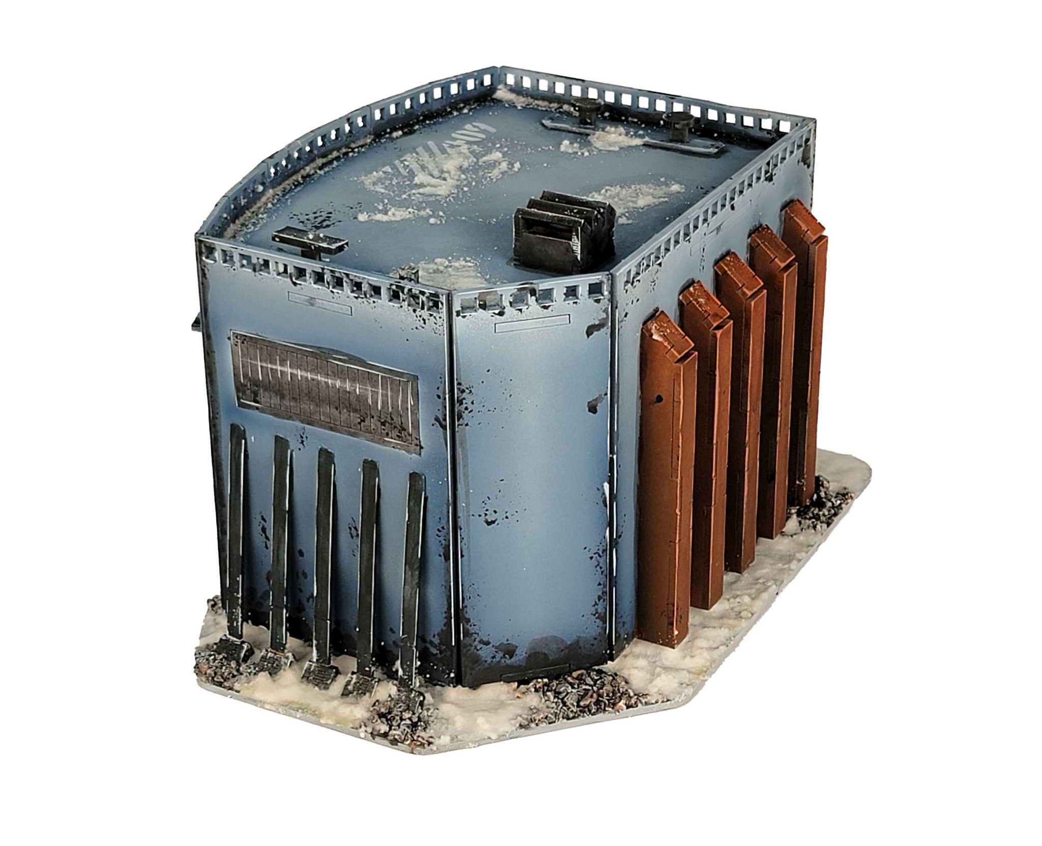 Frontline-Gaming ITC Terrain Series: Research Outpost Set W/ Mat