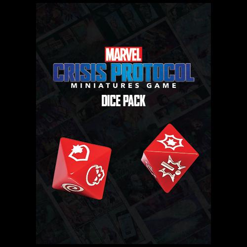 Asmodee Marvel Crisis Protocol: Dice Pack