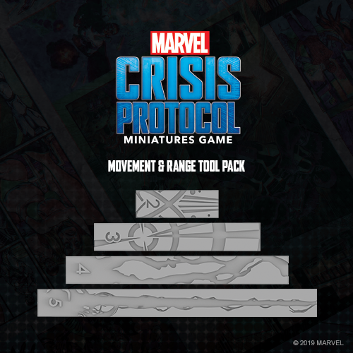 Asmodee Marvel Crisis Protocol: Measurement Tool