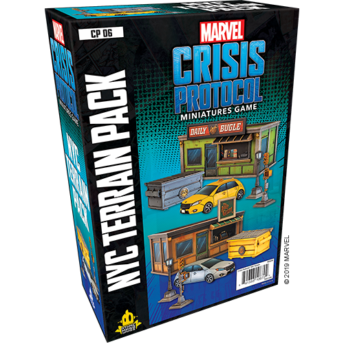 Asmodee Marvel Crisis Protocol: NYC Terrain Expansion
